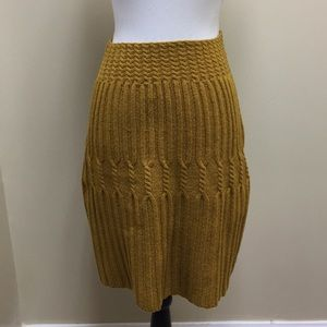 Anthropologie Far Away From Close Sweater Skirt
